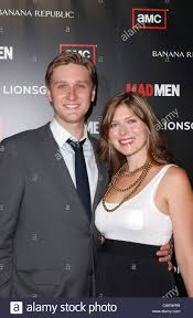 "Aaron Staton and wife Connie Fletcher AMC's ""Mad Men"" Season 4 ..."