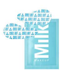 milk makeup cooling water undereye