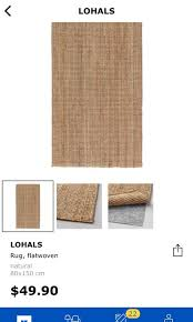 ikea lohals rug furniture others on