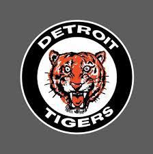 Detroit Tigers Vintage Logo 1961 1963 Sticker Vinyl Wall Decal Etsy