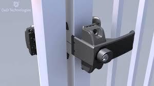 Lokk Latch Magnetic Gate Latch Installation Video Youtube