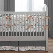 gray fox crib bedding carousel designs