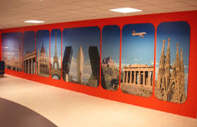 custom wall wraps have lunch in paris