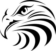 Tribal Eagles Head Outdoor Window Decal Sticker Eagle Tribal Animal Decal Sticker Eagle Silhouette Eagle Face Animal Drawings