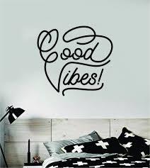 Good Vibes V7 Wall Decal Sticker Bedroom Room Art Vinyl Inspirational Boop Decals