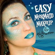 mermaid makeup sheknows