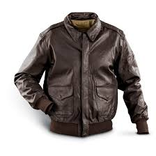 mil tec a2 leather jacket black
