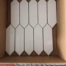Best Tiles Picket Fence Backsplash For Sale In Vaudreuil Quebec For 2020