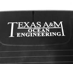 Ocean Engineering Car Decal