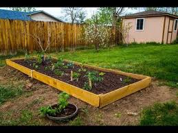 making a simple mini raised garden bed