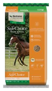 safechoice mare foal horse feed nutrena