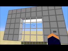 minecraft 4x4 seamless glass door