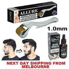 derma roller beard hair growth serum