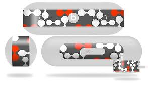 Locknodes 04 Red Decal Style Skin Fits Beats Pill Plus Beats Pill Not Included By Wraptorskinz Shop Online For Electronics In Fiji