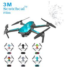 Waterproof Uv Resistant Pvc Skin Stickers Decal For Dji Mavic 2 Pro Zoom Drone Quadacopter Cover Wrap Guard Sticker Decals Camera Drone Decals Aliexpress