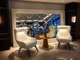 luxury beveled mirror tiles decoration