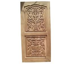 designer indian teak single door at rs