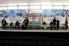 metro ad caign romain baillet