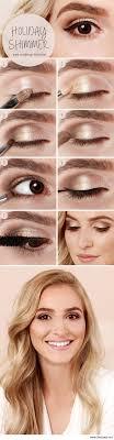 natural everyday eye makeup cat eye