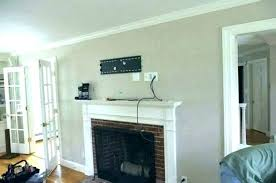 how to hide wires for wall mounted tv