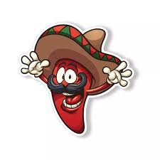 Funny Jalapeno Sticker Sombrero Car Cup Laptop Window Bumper Armor Tag Decals Stickers Aliexpress