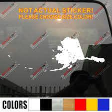 Alaska State Map Flag Decal Sticker Big Dipper Plough Car Vinyl Pick Size Color Die Cut No Background Car Stickers Aliexpress