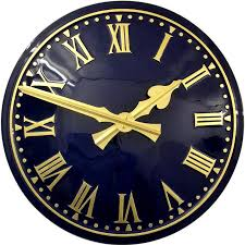 large outdoor clocks traditional