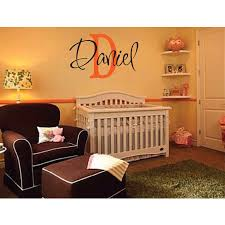 Daniel Wall Decal Personalized Room Childrens Wall Art Custom Name Vinyl 15inx23in Vinyl Name Name Wall Decalswall Decals Aliexpress