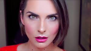 simple winged eye liner makeup tutorial