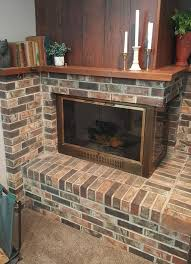 how to gray wash brick fireplace