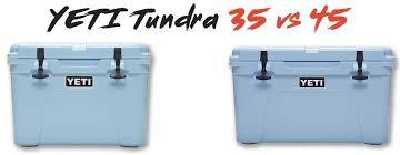 yeti tundra 35 vs 45 things should