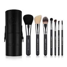 makeup brush set by zoreya black 7