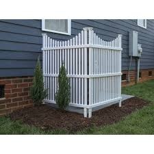 Zippity Outdoor Products 4 Ft H X 3 Ft W Huntersville Privacy Screen Wayfair In 2020 Garden Fence Panels Outdoor Privacy Privacy Screen