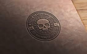 logo mockup in adobe photo