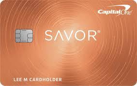 capital one savor cash rewards credit