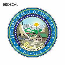Ebdecal Nevada Auto Car Bumper Window Wall Suitcase Decal Sticker Decals Diy Decor Ct12963 Car Stickers Aliexpress