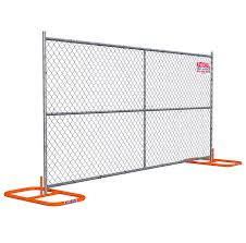 Temporary Chain Link Fence Panel Rentals National Rent A Fence