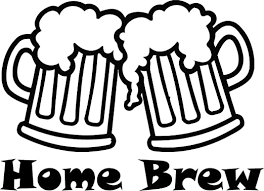 Amazon Com Home Brew Beer Wall Decals For Walls Brewery Craft Drink Drinking Hobby Designs Stickers Decal Art Vinyl Decor Garage House Distillery Mancave Beers Mugs Keg Cheers Size 20x20