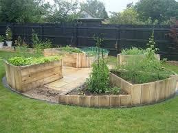 garden bed ideas wood pallet ideas