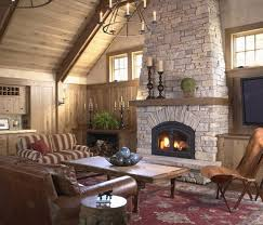 installing faux stone fireplace