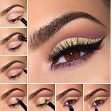 light party makeup step by step