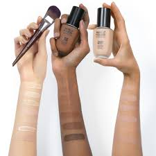 makeup forever water blend swatches
