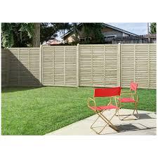 Grange Contemporary Vogue Fence Panel 1 2 X 1 8m
