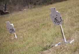 shooting steel targets