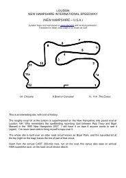Champcars + Indycars - Gdecarli.it