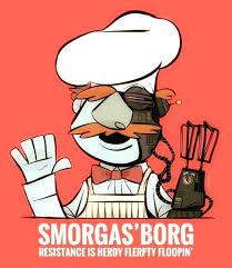 muppets swedish chef x star trek s the borg star trek funny