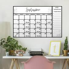 Dry Erase Wall Decal Calendar Board Sticker Thermometer Art Amazon Removable Chalkboard Large Vamosrayos