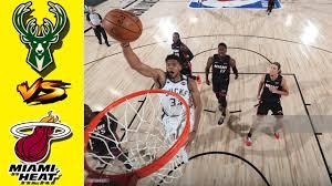 Miami Heat vs Milwaukee Bucks - Highlights 3rd Qtr I Game 1 I NBA Playoffs  ( Aug 31, 2020) - YouTube