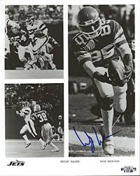 Photos Wesley Walker New York Jets Signed Autographed Action 8x10 ...