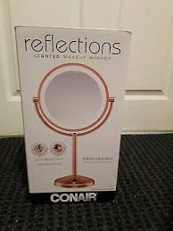 lighted makeup mirror oil rubbed bronze
